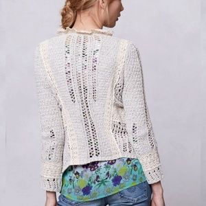 a66744664c01 Anthropologie Sweaters - Knitted & Knotted Anthro Cardigan Fringe Sweater